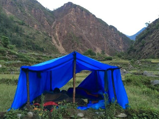 Camping in Yangri