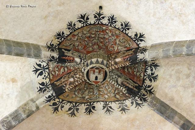 Catedral de Santa María, clave de bóveda, Saint Bertrand de Comminges por El Guisante Verde Project