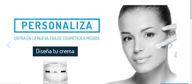 Cocoloon crema facial personalizada cosmetica
