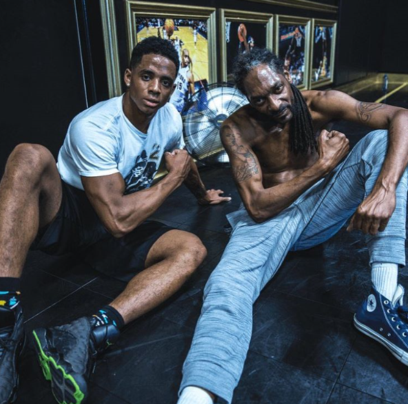 Snoop Doggs son Cordell Broadus signs up with Wilhelmina