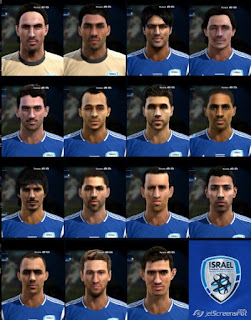 Facepack Israel National Team Pes 2013