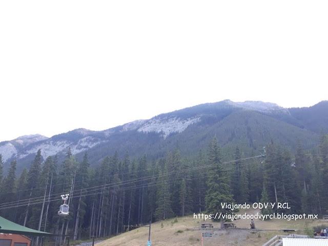 Terminal de gondola de Banff. Banff. Montañas Rocosas Canadienses