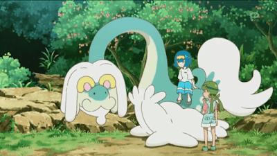 Pokemon Sol y Luna Capitulo 59 Temporada 20 Mao y Suiren, agridulces recuerdos