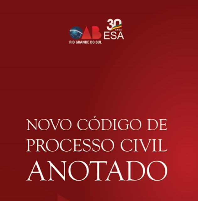 E-book para download do novo cpc comentado em PDF