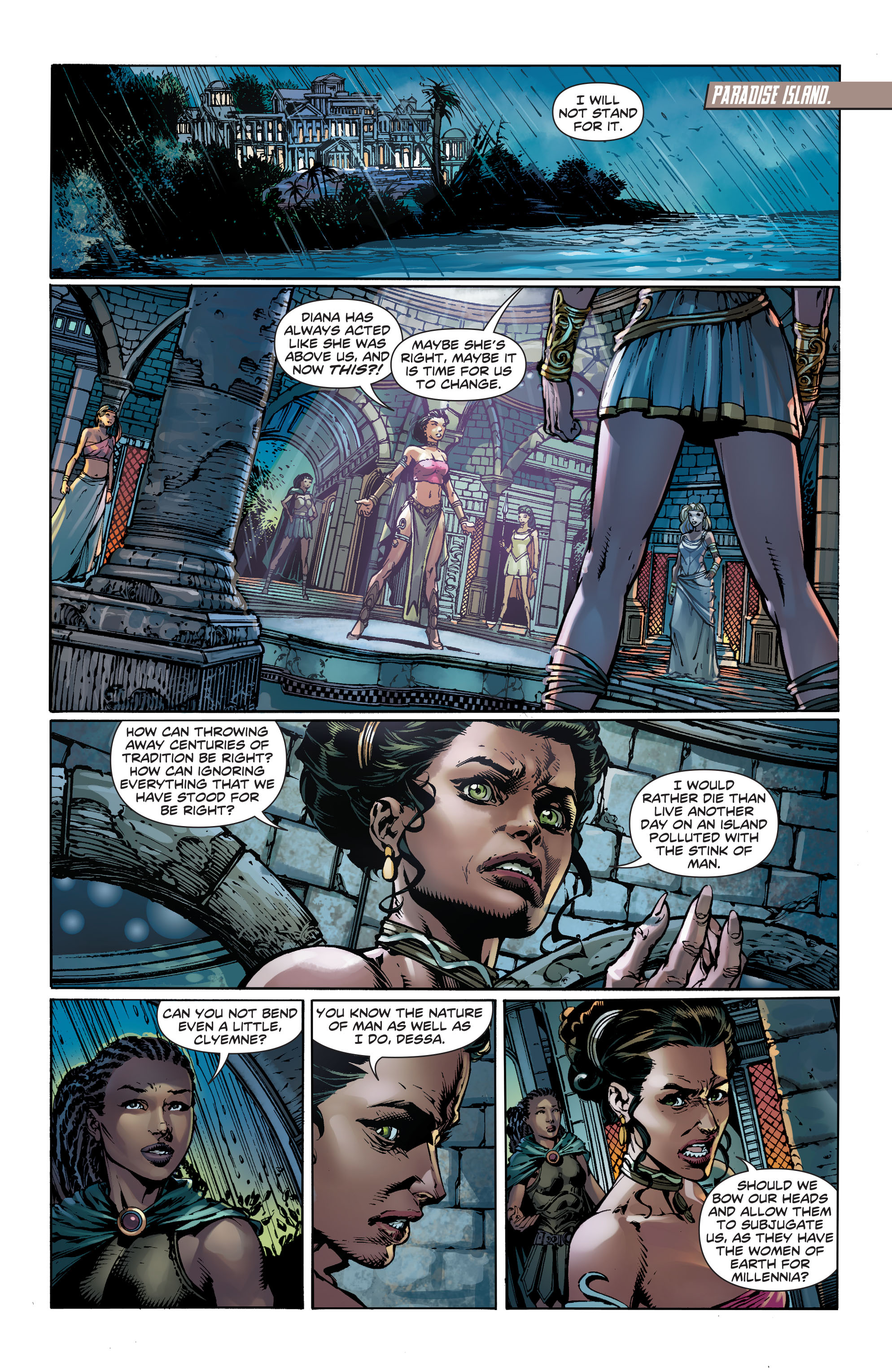 Read online Wonder Woman (2011) comic -  Issue #36 - 7