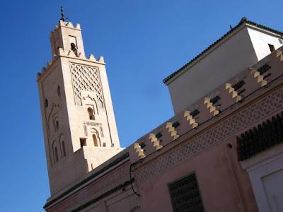 Mezquita Bab Doukkala en Marrakech