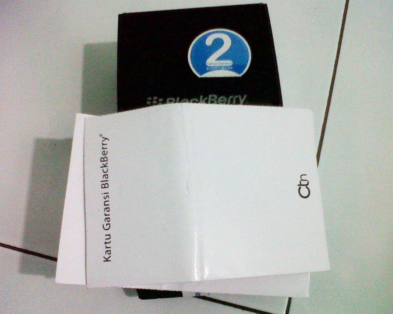 Ciri dan Perbedaan Garansi Blackberry Resmi, Distributor, BM