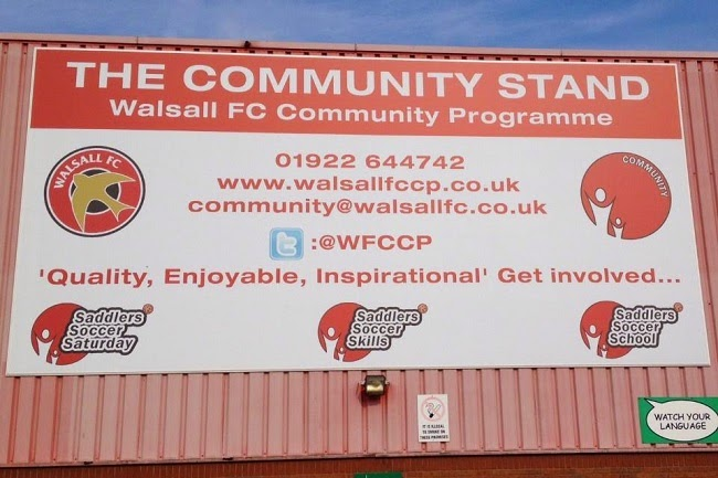 WFCCP   Over 1,000 Local School Children to Watch Walsall Take on the Gills