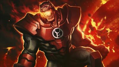 Atrocitus . Lanterna Rossa