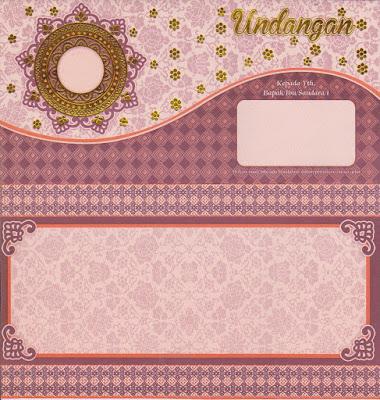 contoh desain kartu undangan pernikahan unik dan murah gratis terbaru