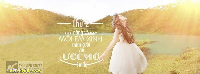 Ảnh bìa facebook đẹp độc đáo - Cover FB timeline enique, girl xinh rạng ngời