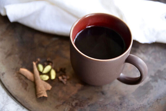Winter Drink Recipe: Immune Boosting Elderberry Tea by Tasting Page