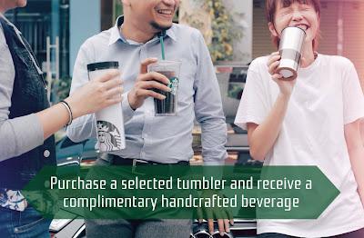 Free Starbucks Malaysia Tumbler