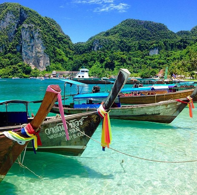 Longtail Boats Thailand