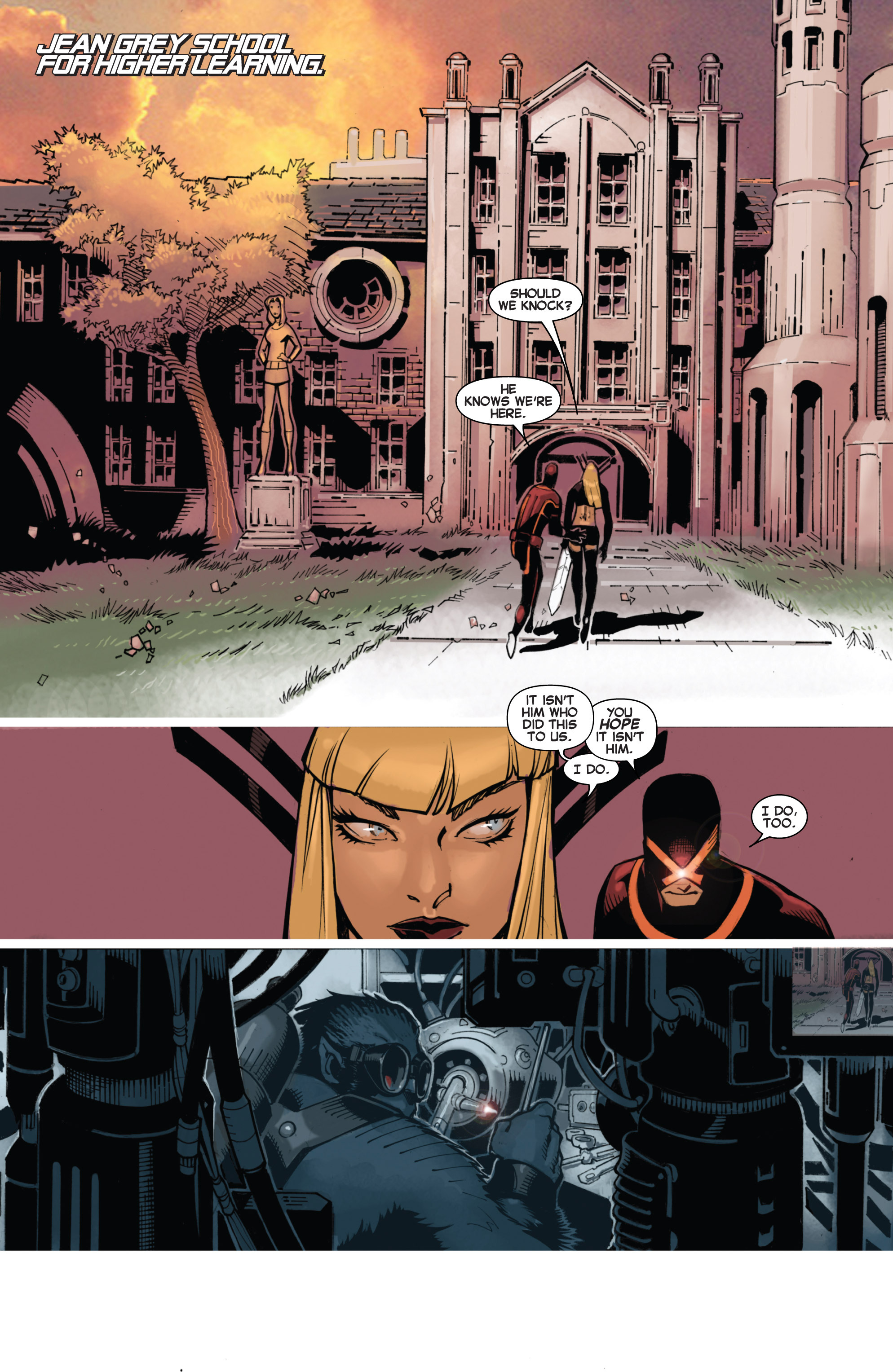 Read online Uncanny X-Men (2013) comic -  Issue # _TPB 4 - vs. S.H.I.E.L.D - 39