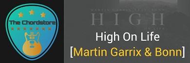 HIGH ON LIFE Guitar Chords ACCURATE | Martin Garrix & Bonn