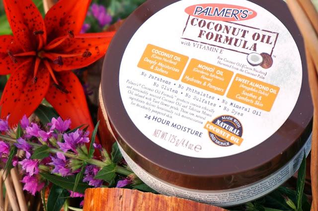 Naturalny poniedziałek - Masło do ciała z olejkiem kokosowym Palmer's