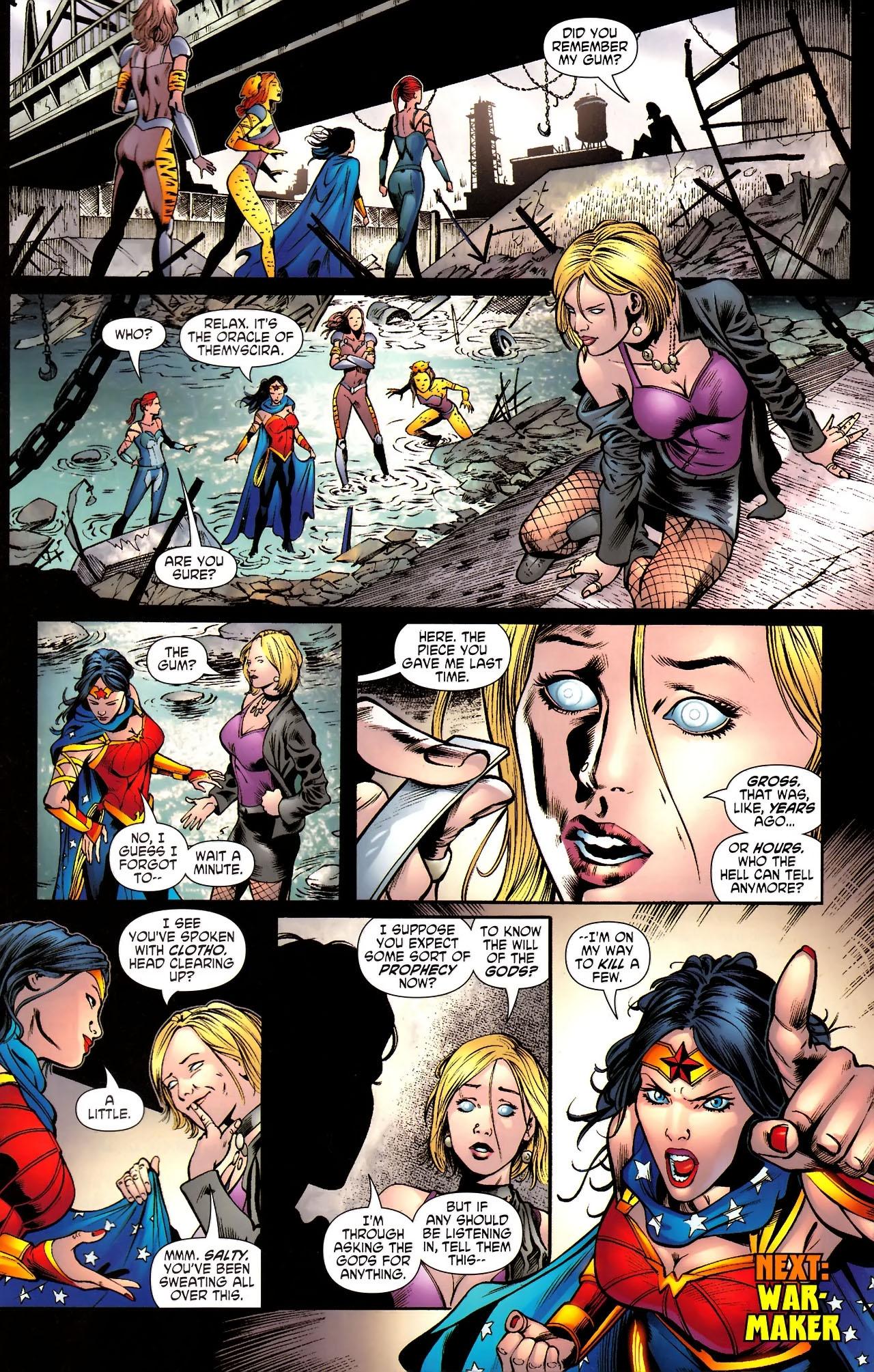 Read online Wonder Woman (2006) comic -  Issue #610 - 21