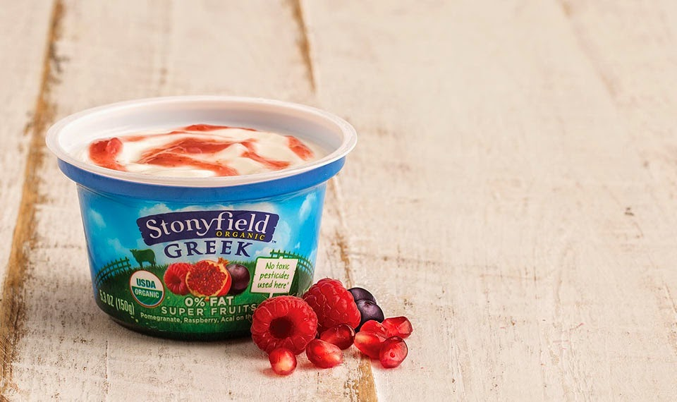 Stonyfield Organic Greek Yogurt Review and Giveaway ends 4/23 via ProductReviewMom.com