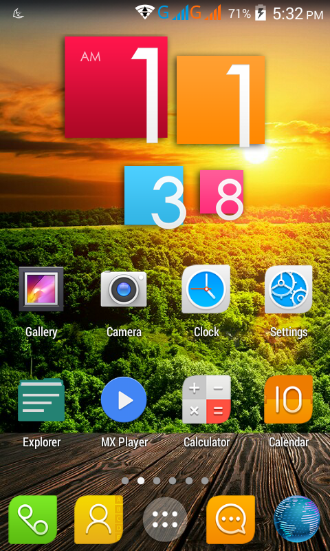 Touch OS Rom for Micromax Unite 2