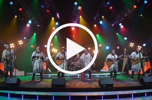 En vivo concierto de los Kjarkas - 45 años