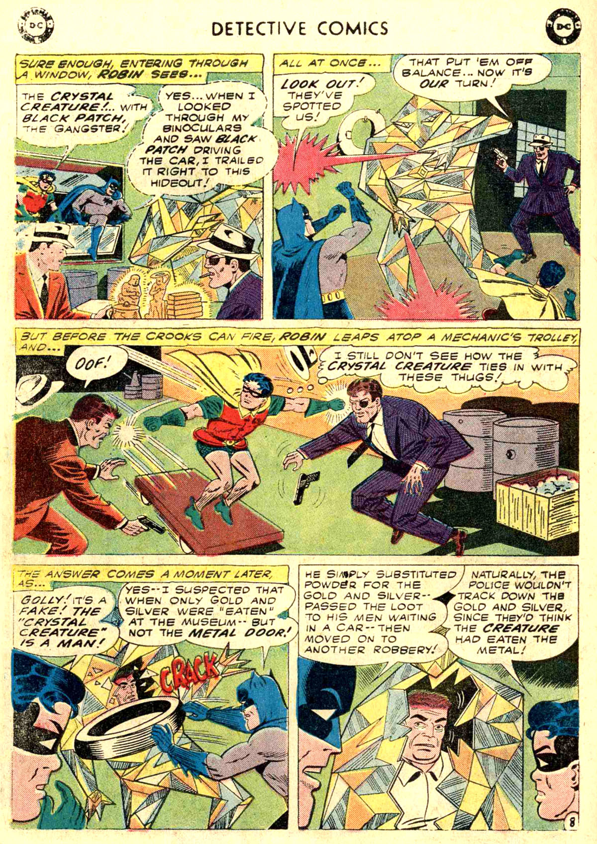 Read online Detective Comics (1937) comic -  Issue #272 - 10