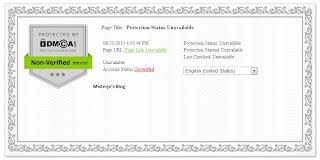 DMCA Protection Status