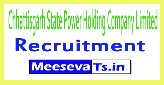 Chhattisgarh State Power Holding Company Limited CSPHCL Recruitment