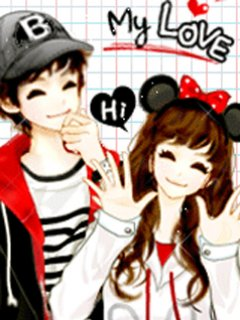 Cute Love Cartoon Couples Wallpapers Coretan De Irma Anime Korea Cute Couple