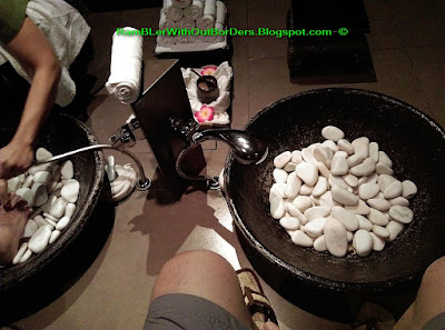 Thai foot bath, Thai Odyssey, KL, Malaysia