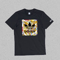 adidas Beavis and Butthead collaboration burgerworld t shirt