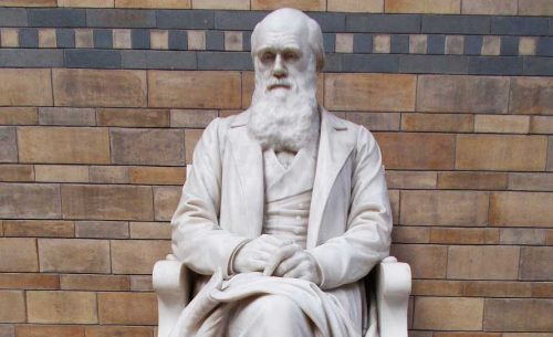 Gambar Monumen charles Darwin