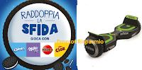 Logo ''Raddoppia la sfida'' e con Mikado, Oro Ciok, Milka e Oreo vinci 56 Hoverboard Nilox Doc 2 Plus