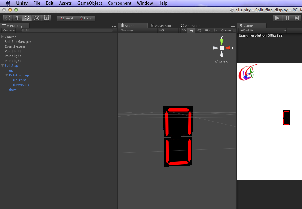 How to create split flap display in unity | LetC