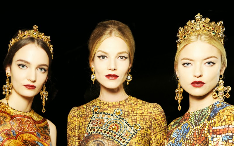 dolce&gabbana d&g fall/winter 2013 collection review