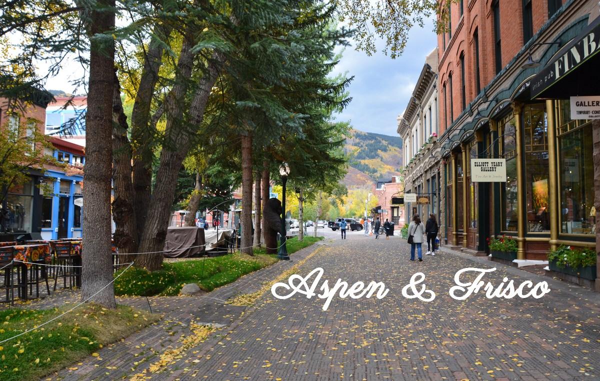 Dans les rues d'Aspen