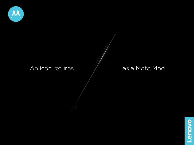 Moto Razr Returns As A Moto Mod?