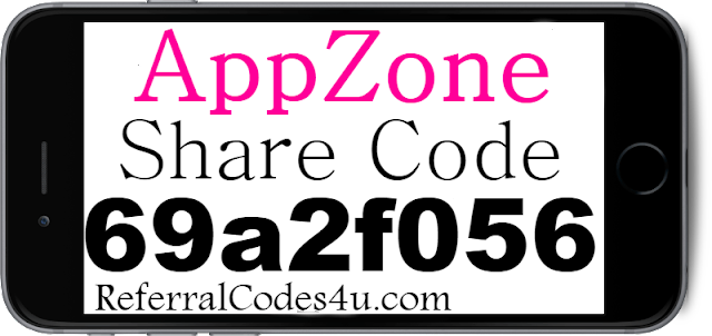 AppZone App Share Code, Referral Code, Reviews and Sign Up Bonus 2018-2019