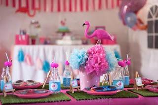 lembrancinha festa flamingo