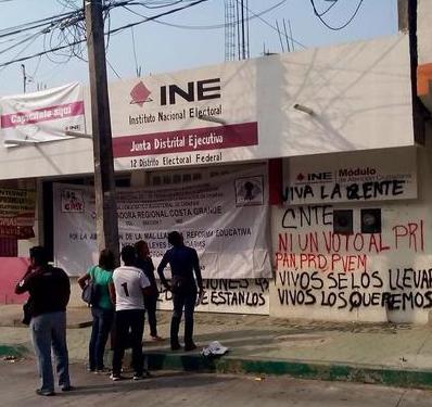 Toman Instalaciones Del Ine En Tuxtla Gutiérrez Tapachula Y