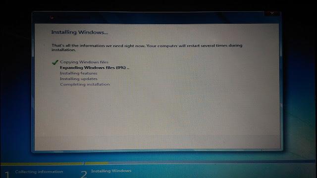 Cara instal dua operating system windows dalam satu komputer