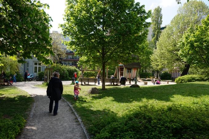 Lasten leikkipuisto Berliinissä