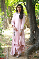 Priya Anand in simply Pink at an interview for movie KOOTATHIL ORUTHAN~  Exclusive celebrities galleries 018.jpg