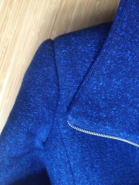 Diary of a Chain Stitcher: Quart Biker Jacket Sleeve Heads and Shoulder Pads Tips