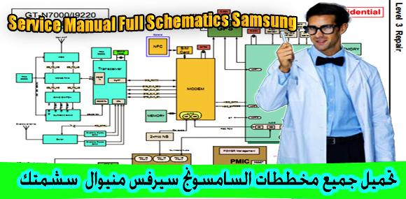 Service Manual Full Schematics Samsung - عالم المعرفة