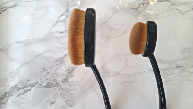 primark oval brushes review