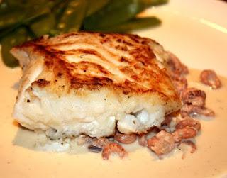recept; recepten; hoofdgerecht; hoofdgerechten; kabeljauw; garnalen; vis;