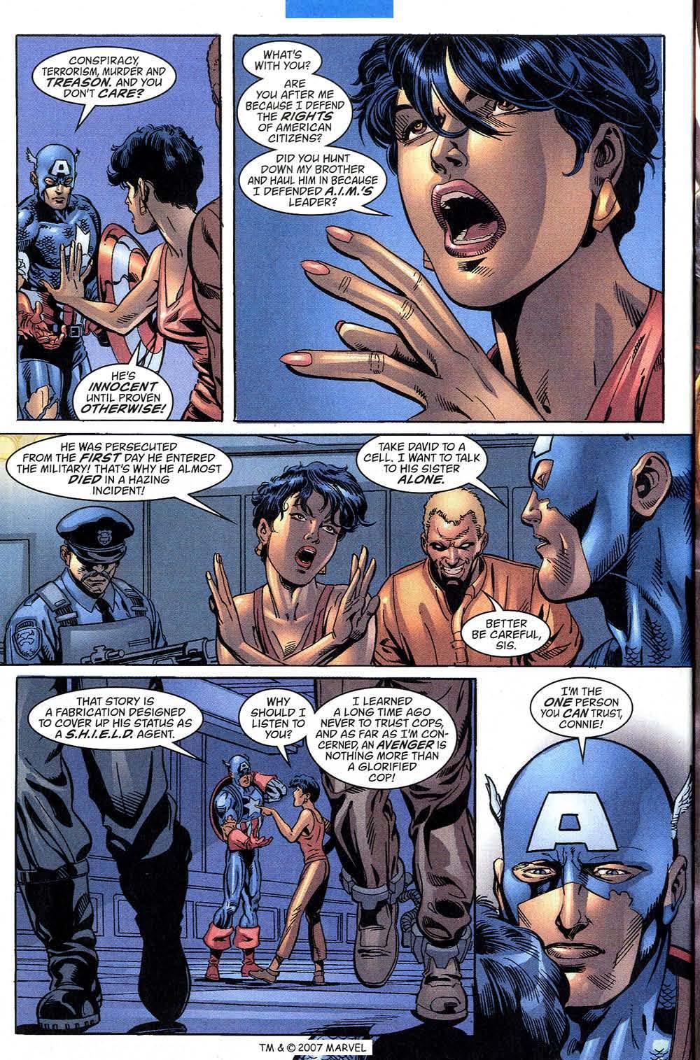 Captain America (1998) Issue #43 #50 - English 30