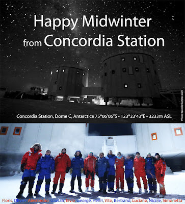 Concordia Station Midwinter Greeting