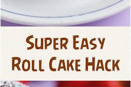 Super Easy Roll Cake Hack